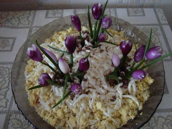 Салат крокус рецепт пошагово
