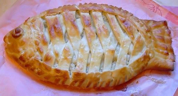 Пирог из сайры с картошкой в духовке рецепт