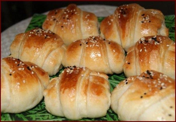 Рецепты слоеных булочек фото