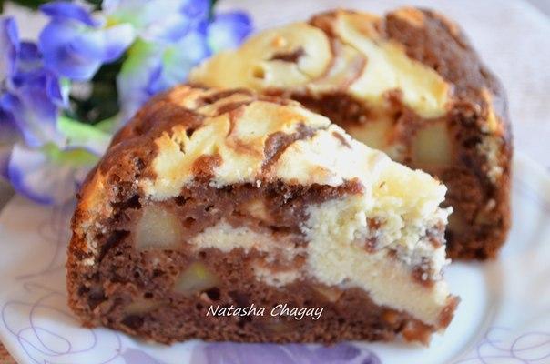 wpid Ur7szUvF5dg Пирог с яблоками и творожной начинкой