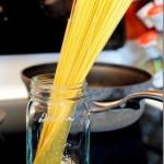 Сковорода средиземноморских креветок