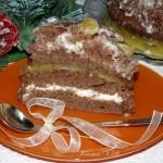 Торт » Мандариновый рай «