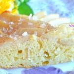 Пирог с грушами и кокосом