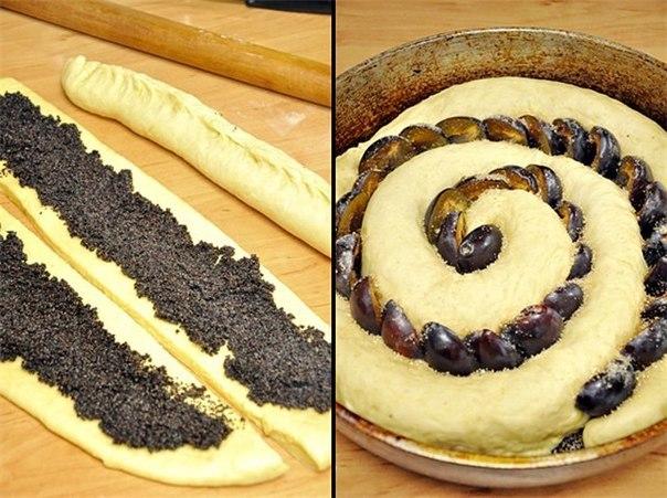 wpid t1WBfSCPNNA Сдобный спиральный пирог с черносливом и со сМАКом