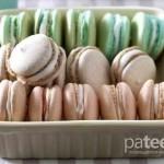«Macarons» вкусное французское печенье.