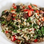 Ароматный рис с овощами