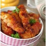 Курица в беконе «Завитушки»