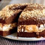 Торт «Сникерс»