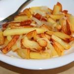 Несколько правил того, чтобы ваша жареная картошка получилась вкусной и красивой….