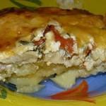 Обалденная вкусная запеканка картофельная с рыбкой