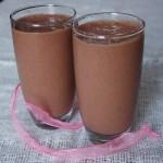 Клубнично-шоколадный коктейль
