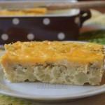 Запеканка из цветной капусты с сыром (100 ккал/100 гр)
