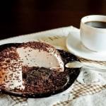 Творожное суфле со вкусом горького шоколада