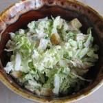 Салат из курицы и капусты
