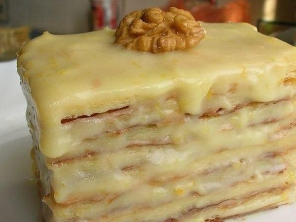 wpid LL9gVtlFluE Слоеное пирожное со сгущенкой