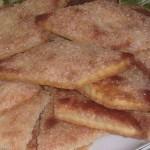 Простое в приготовлении и очень вкусное ,хрустящее печенье…