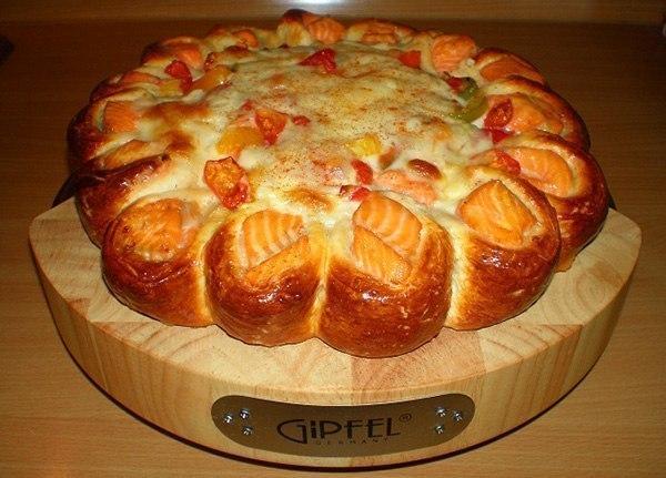 wpid un8X2WHWpcM Красивый рыбный пирог