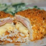 Шницель из куриной грудки «Кордон блю»