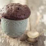 Шоколадный кекс из Nutella за 3 минуты.