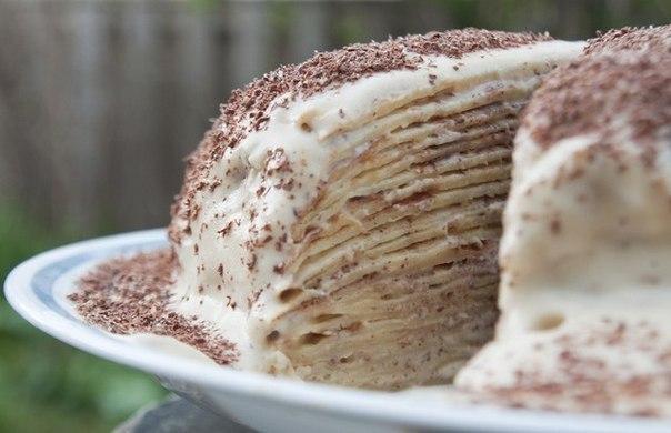 wpid 2qELhasgOEQ Блинный тирамису торт
