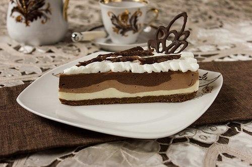 wpid 84Ya 7P8bMY Трехслойный шоколадный чизкейк без выпекания