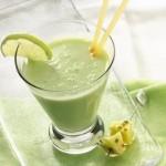 Жиросжигающий зеленый коктейль.