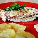 Свинина с розмарином и сыром