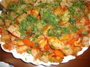 наивкуснейшая картошка