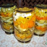 Рецепт «Желейный салат».