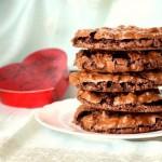 Шоколадно-ореховое печенье без