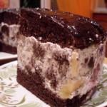 Шоколадный торт «Африканская ромашка»