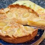 Грушевый торт с миндальным кремом (Французский грушевый торт)