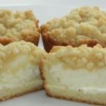 Тертые кексы с начинкой