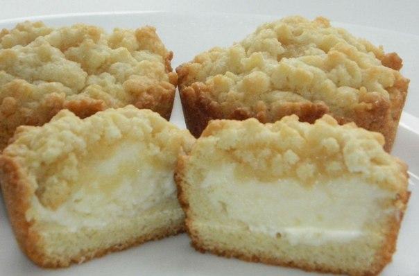 Кексы с начинкой в силиконовых формочках рецепты пошагово