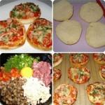 Супер-быстрые булочки-пиццы ЗА 10 МИНУТ!