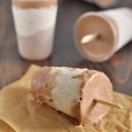 Сливочно-бананово-шоколадное мороженое