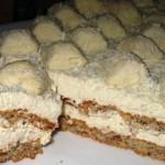 Торт миндальный «Рафаэлло»