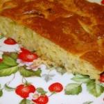 Ленивый пирог с капустой «Быстрее не бывает»