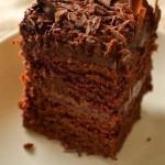 Супер-влажный шоколадный пирог (без яиц)