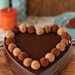 Торт «Трюфельное сердце»