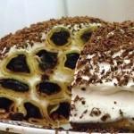 Тортик «Дрова под снегом»