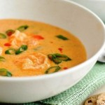 Суп «Сырный с креветками»