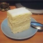 Торт в микроволновке: «Снежность»