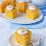 Тыквенный кекс с апельсиновым сиропом