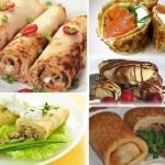 15 самых вкусных начинок для блинчиков.