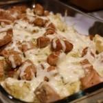 Свинина с картошкой в духовке