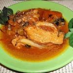 Обалденное рагу из курицы