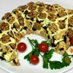 Вкусный и очень красивый салат «Рог изобилия!