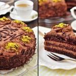 Шоколадный торт «Серж»