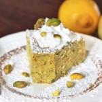 Лимонно-фисташковый пирог из 7 простых ингредиентов
